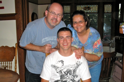 Andy and I with our nephew Jake